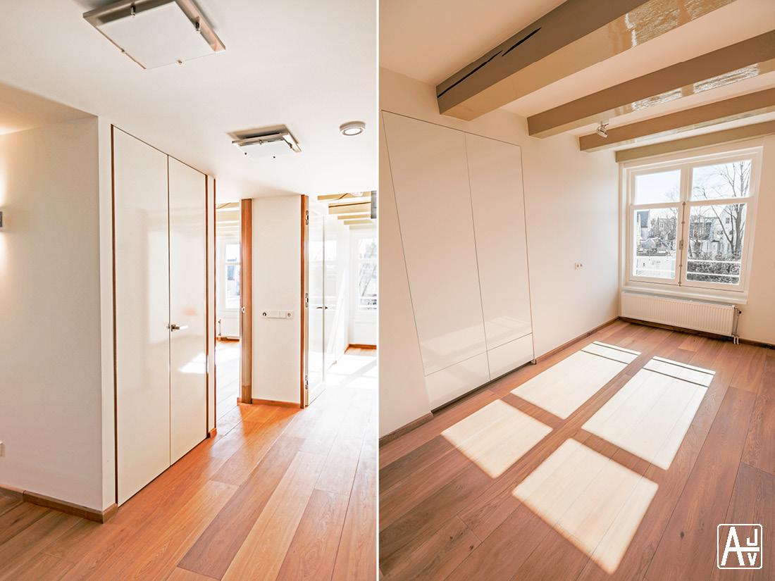 Plattegrond Slaapkamer Renovatie : Atelier jelle verheijen renovatie appartement